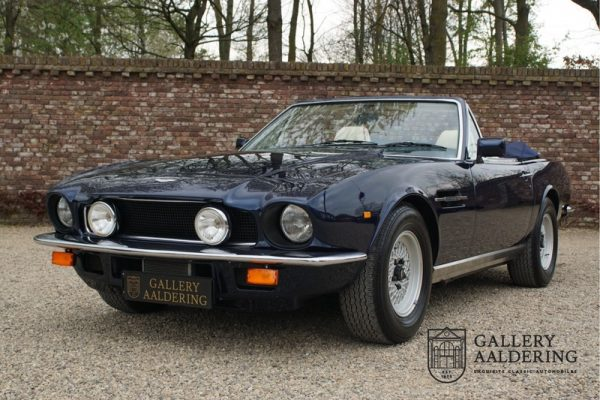 Aston Martin V8 Volante series 2 1987