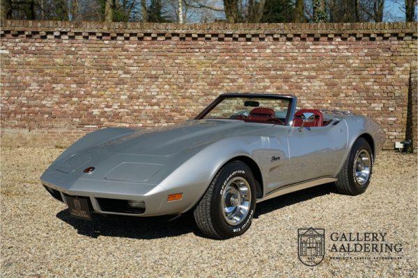 Chevrolet Corvette C3 Stingray Convertible 1974