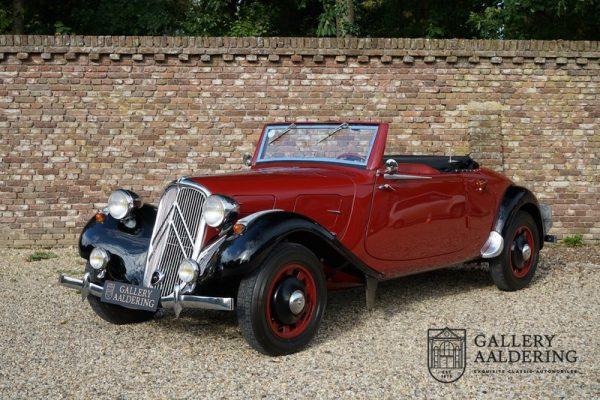 Citroen Traction 11 BL  ORIGINAL convertible 1937