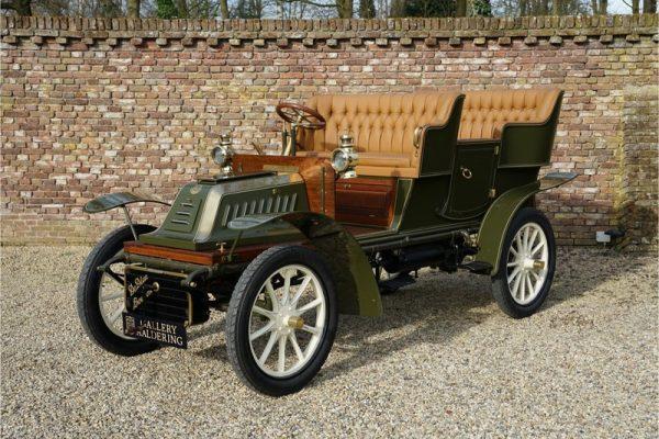 "De Dion Bouton V "" chassis Allonge"" 1904"