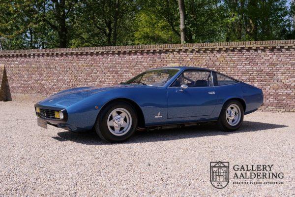 Ferrari 365GTC/4 Ferrari Classiche certified car, Matching numbers 1972