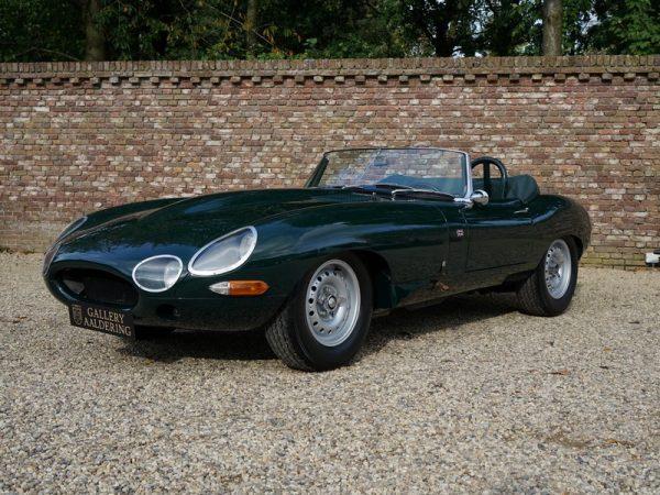 Jaguar E-Type 'lightweight' 4.8 convertible 1962