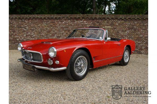 Maserati 3500 GT Vignale Spyder 1961