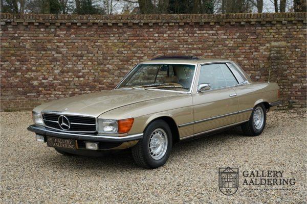 Mercedes-Benz SL-klasse 450 SLC coupé 1975