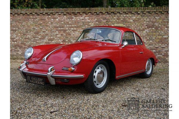 Porsche 356C 1600 Reutter coupe 1964