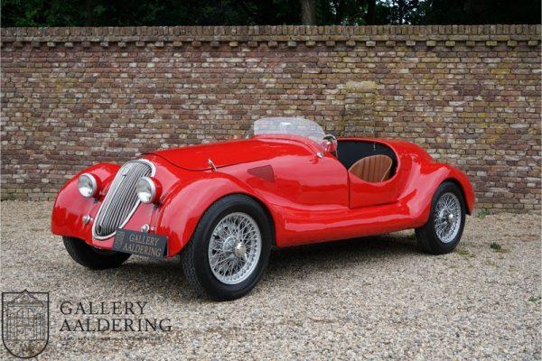 Simca 8 1200 Barquette sport Gordini replica 1950