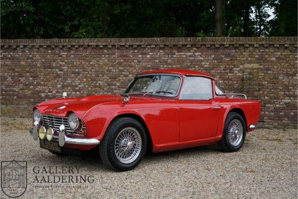 Triumph TR4 Surrey Top 1964