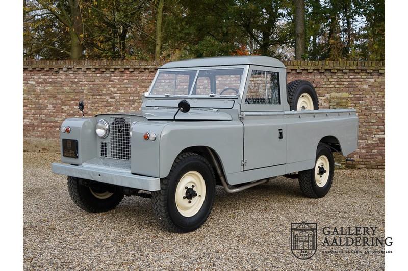 Land Rover 109′ Series 2 Pick-Up 2.25 Petrol 1959