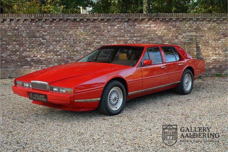 Aston Martin Lagonda 4th Owner Only 59 833 Miles One Of Only 645 Made Gallery Aaldering