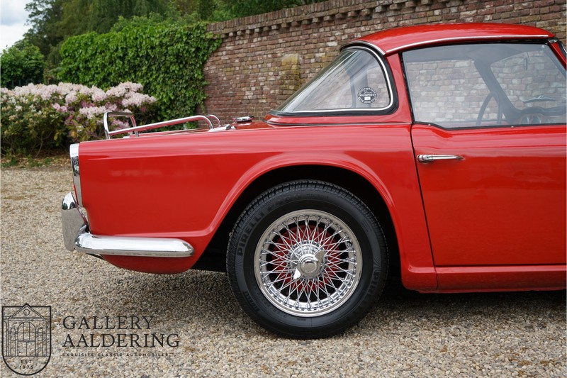 Triumph TR4 Surrey Top documented from day one, two owners