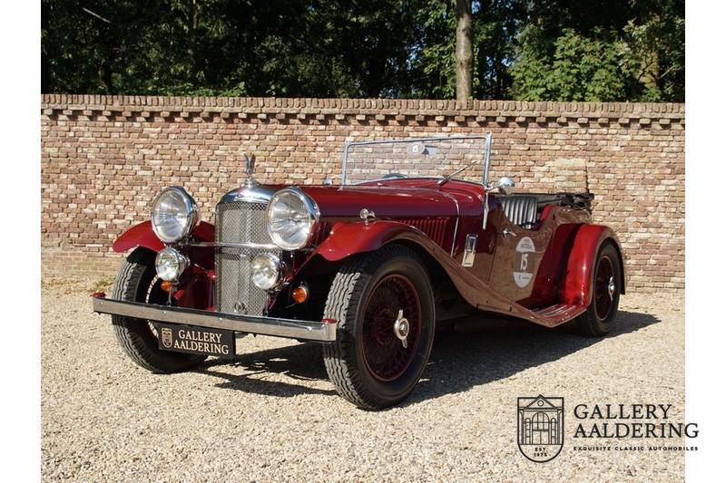 1938 アルヴィス スピード 20 オープン ツアラー