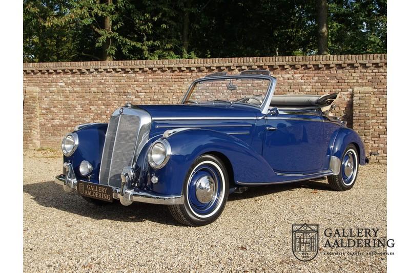 1955 メルセデス ベンツ 200シリーズ 220 コンパーチブル