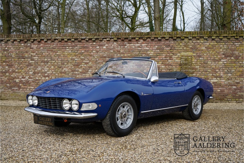 Fiat Dino Spider 2 0 With Only 81000 Km From New Gallery Aaldering