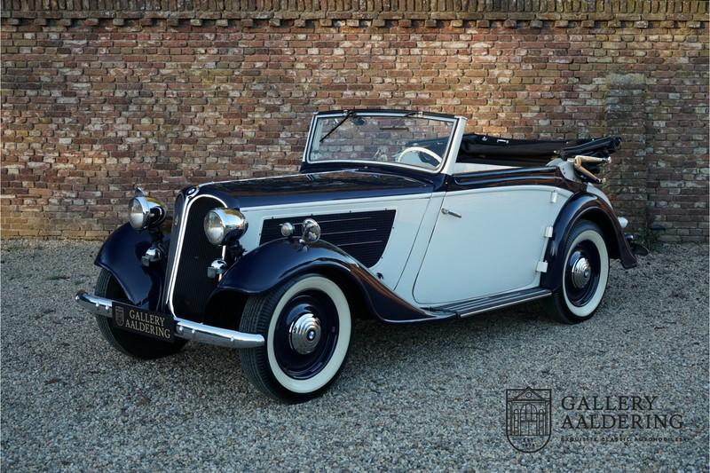 1936 BMW 319 コンバーチブル